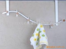 NEW Hot Item CX-B12P Plastic Spary 6 Hooks Towel Bar