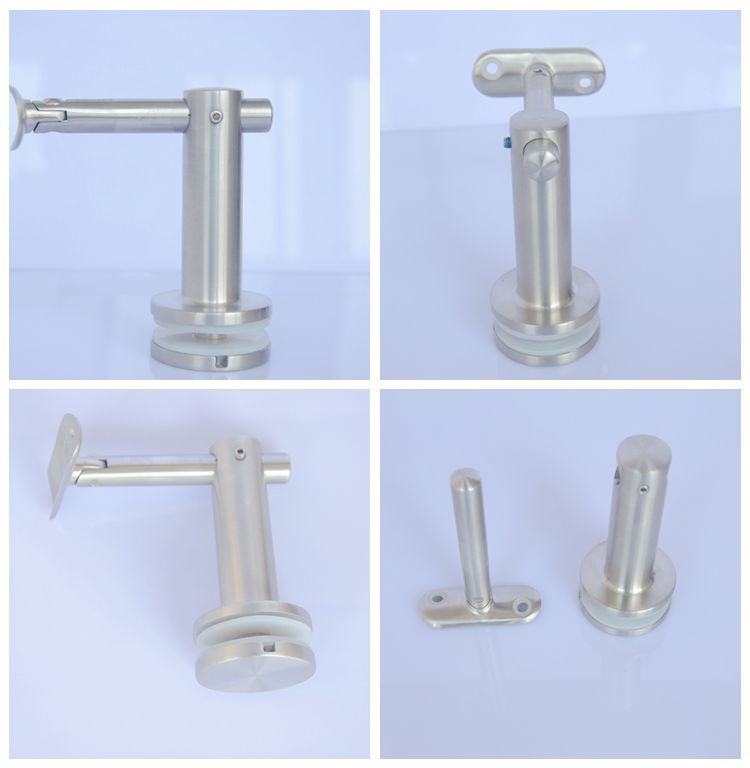 hot sale glass stainless steel stair handrail bracket