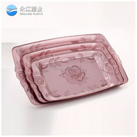 wholesale large plastic plant trays decorative plastic fruit tray fruit tray cake plate