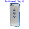 Hot PC Case for iPhone 5 / 5s / SE, Transparent Mobile Phone Case for iPhone 5