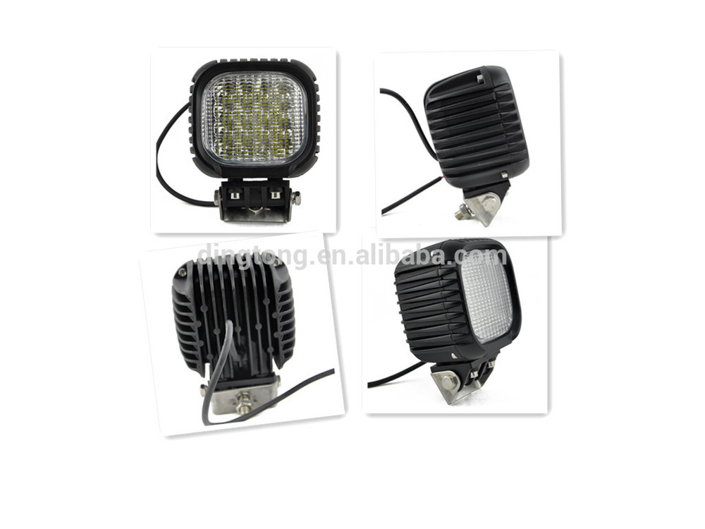 40w square commercial electric led work light