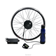 "26"" Rear Wheel 36V 350W Electric Bicycle Conversion Kit E-bike Cycling Brushless Hub Motor Intelligent Controller Restricted to"