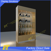 Cosmetic display cabinet and showcase