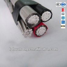 ASTM 230 Aluminum wire XLPE Insulation Low Voltage 0.6/1 KV electric cable Aerial Bundled Cable ABC Cable