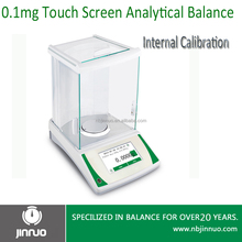 jinnuo balance touch screen 210g 0.0001g 0.1mg high precision magnetic electronic analytical balance