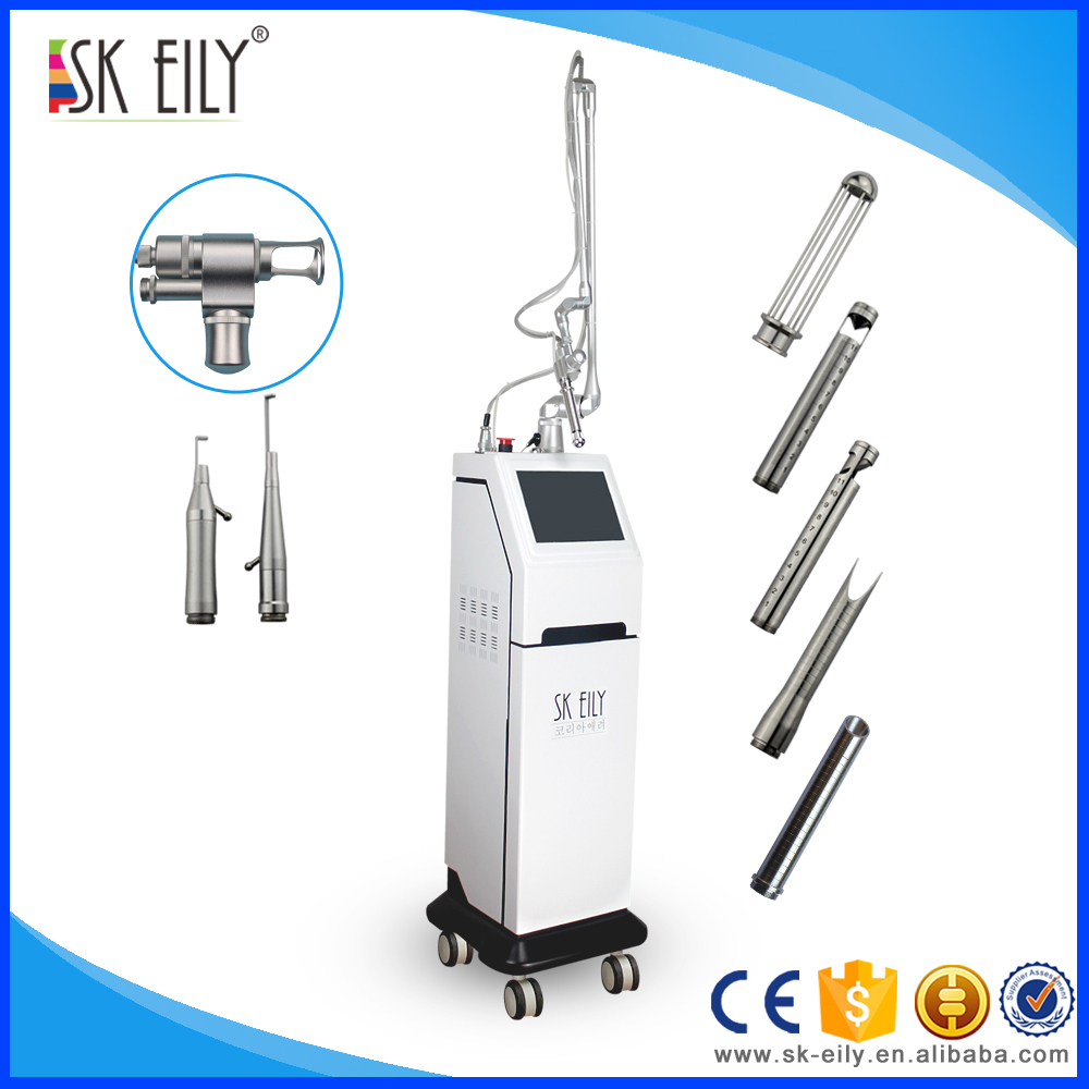 Surgical scar remove fractional co2 laser vaginal tightening machine