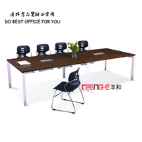 High Class Office Meeting Table Design,Modern 10 Person Wooden Conference Table SH-352