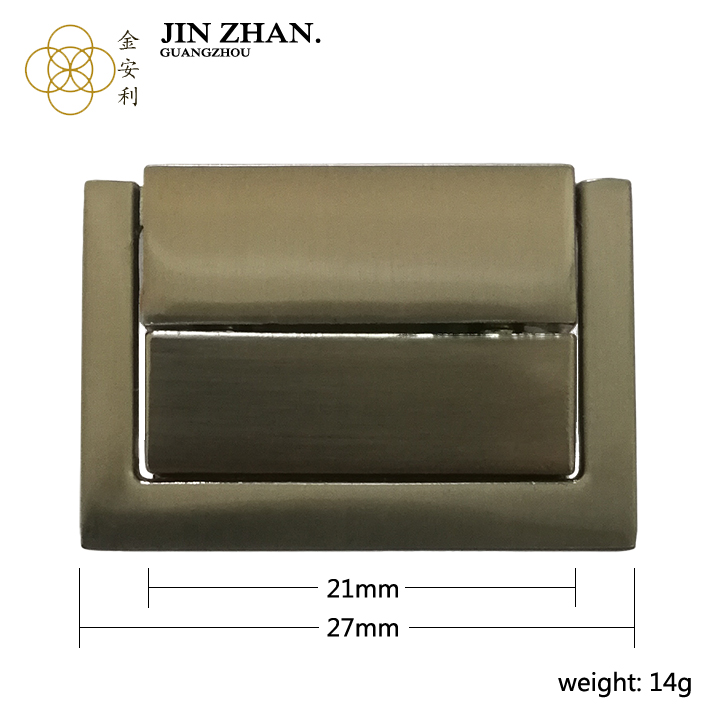 K2767 Middle and high end gift box lock dressing case lock square shape lock for handbag