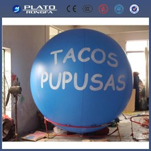 Helium balloon,inflatable advertising PVC inflatable helium balloon,PVC balloon helium for advertising