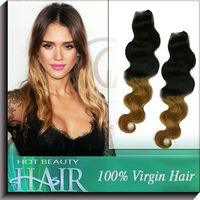 New Arrive 5A Two Tone Hair Body Wave Brazilian Blonde Ombre Hair