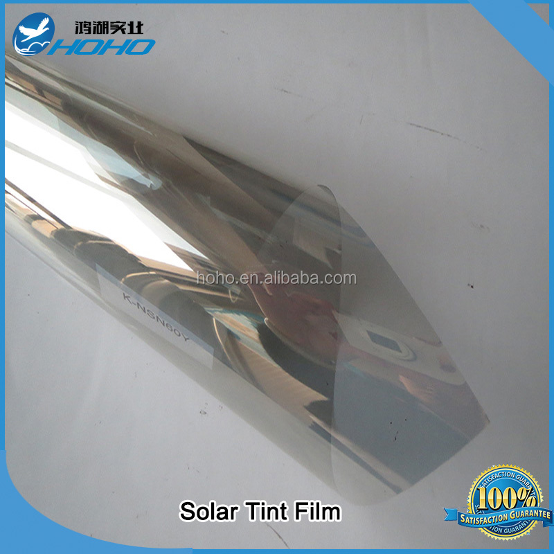 SILVER 20% SOLAR REFLECTIVE WINDOW FILM ONE WAY PRIVACY TINT 92% UV Rejection Reduce Sun Block effect
