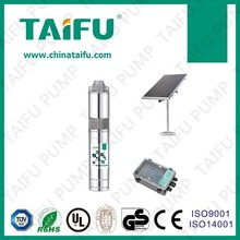 Taifu 24v dc motor solar pump, high pressure water pump