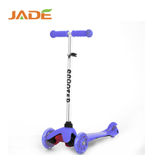 High Quality cheap 3 wheels children folding kids mini kick scooter