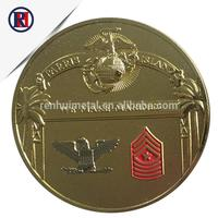 The most popular souvenir metal eagle silver coin