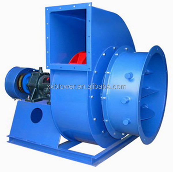 Heat Resistant Industrial Furnace Hot Air Induced Draft Fan