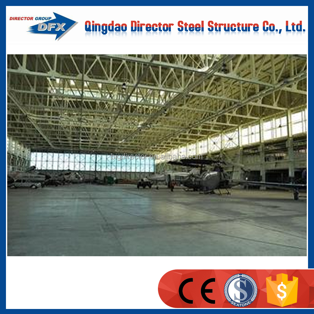 Flat roof carports of steel stucture building for prefab garage