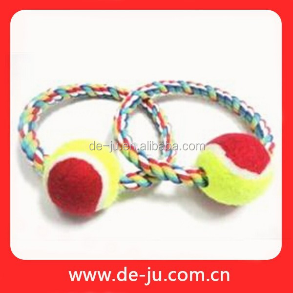Handmade Colorful Cotton Rope Dog Kennel Toy