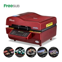 Freesub all in one 3D sublimation vacuum heat press machine cell phone mobile case covers printing machine ST3042