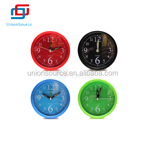 Round Pure Color Alarm Clock
