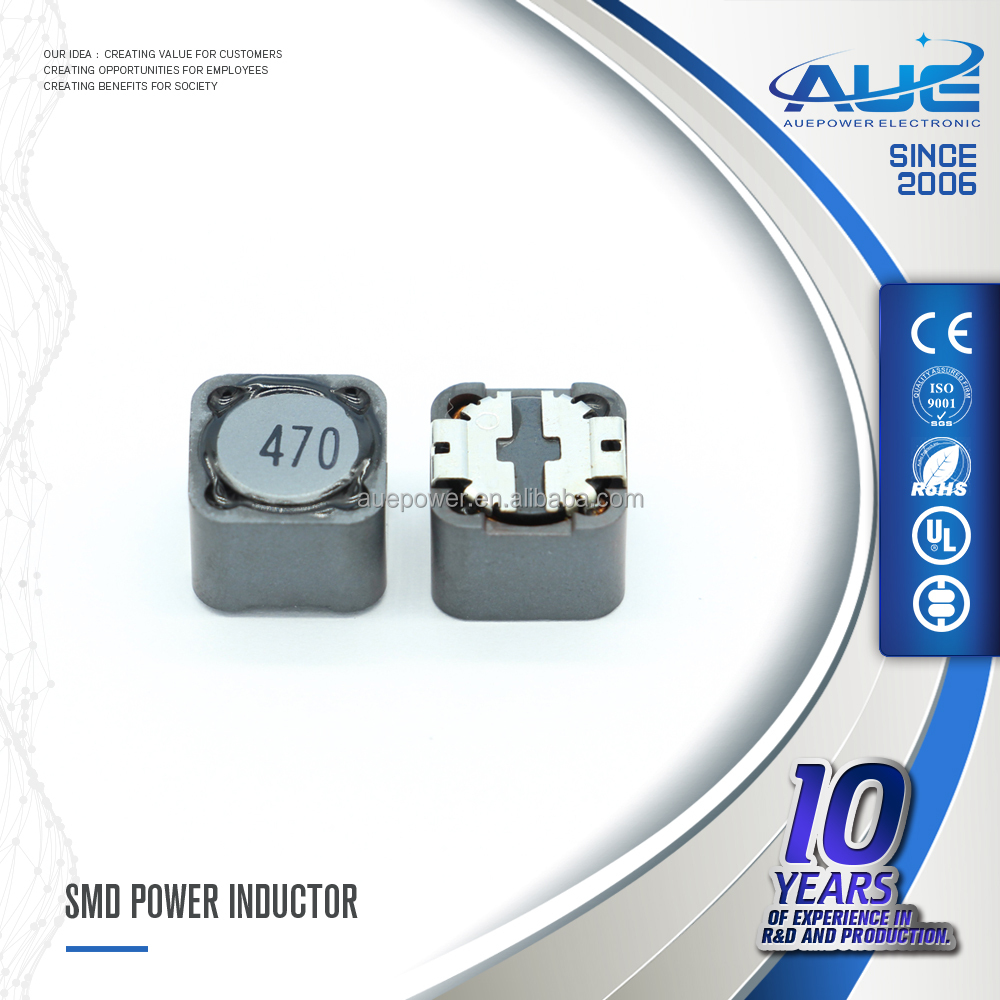 High Power SMD Inductor 6.2*6.6*3.0MM 12uH SMD Power Inductors