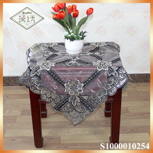 Arabic luxury sequins embroidery table cover tablecloth