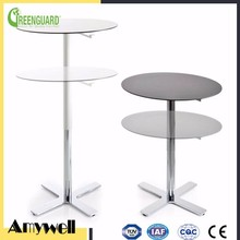 Amywell high quality aluminum based waterproof Formica hpl dinning table