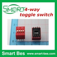 Smart bes~4p dial switch and code switch 2.54mm pitch