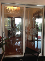 3 panel sliding glass door