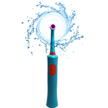 Rotating Electric toothbrush of two AAA batteris