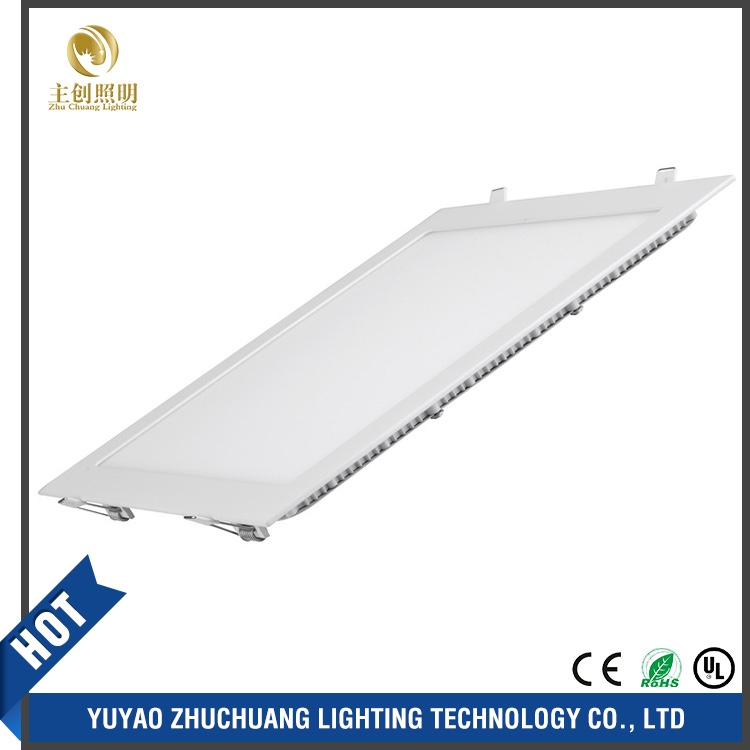Energy saving panel led light / low prices square led panel light 24w