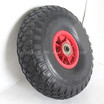 Shandong Solid Puncture Proof Wholesale Tires 4.00-4