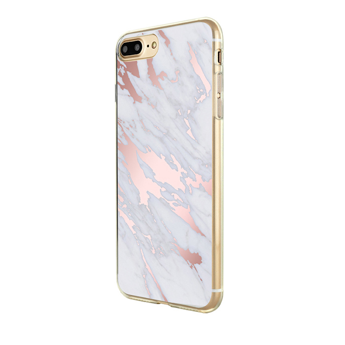 modern cool rose gold print case