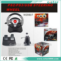 2018 Powerful Vibration Steering wheel for PS3
