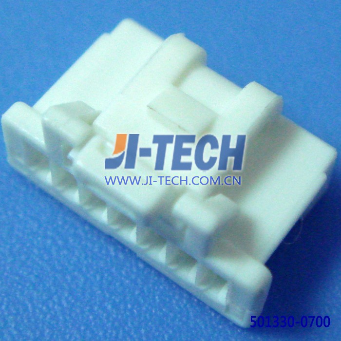 molex 1.0mm pitch 501330 series 7 pin connector 501330-0700 housing wire to board female connector