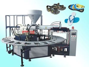 Rotary type Automatic PVC air blowing shoe molding machine(JG-3124)