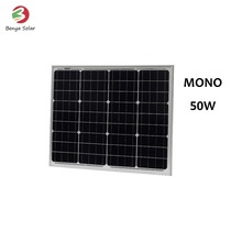 50W monocrystalline silicon solar power panel cells