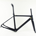 Hight performance competitive price chinese carbon bike frame and carbon forks OG-CF003 V brake BAS 700c racing bike frame