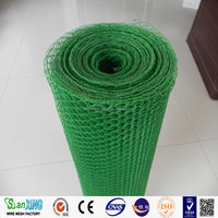 Galvanized/PVC hexagonal wire mesh for Poultry fence