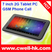 2G Tablet PC 7 Inch Capacitive Touch Screen Android 4.4 phone tablet
