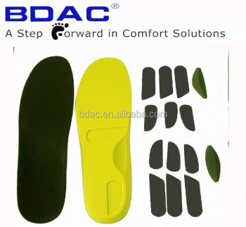 EVA inserts adjustable orthotic insoles