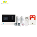 Support 100 smart sockets wireless/wired security alarm system/smart home WIFI/GSM/GPRS alarm system