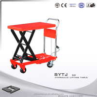 SHANYE SYTJ-50 used motorcycle lift tables for sale