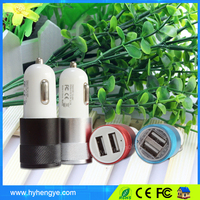 Shenzhen Factory hot selling dual car usb charger for Samsung Galaxy S2 S3 S4 S5 Table Smart Phone