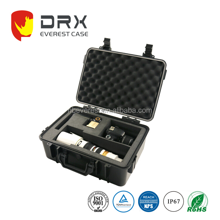 Plastic Waterproof Safety Instrument Hard Camera Case