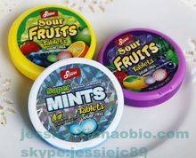Sour Fruits Super mints Sugar Free mints custom candy