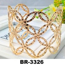 Fashion Adjustable Metal Cuff Bangle Bracelet Jewelry Wristband Armlet