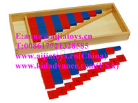 Montessori Math toys,Small Numerical Rods preschool montessori teaching aids