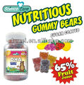 DHA vitamin gummy bears candy