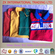 china second hand clothes bales/bulk wholesale used t- shirt price in italy