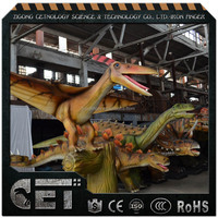 Cetnology Inflatable Animatronic Dinosaur, Dinosaur Sculptures with Pneumatic System